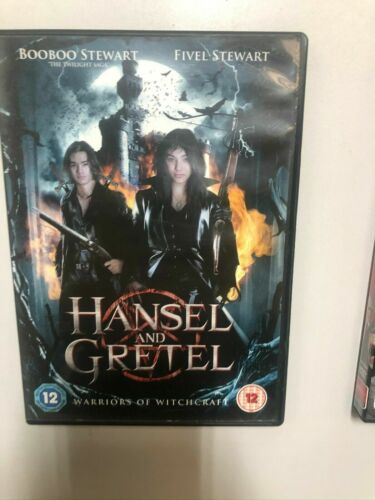DVD -Hansel And Gretel Warriors Of Witchcraft - REGION 2 - FREE POST #P5