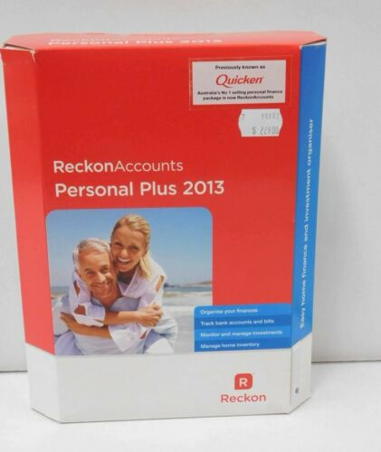 Reckon Accounts Personal Plus 2013 Full Version (No Renewal Required)