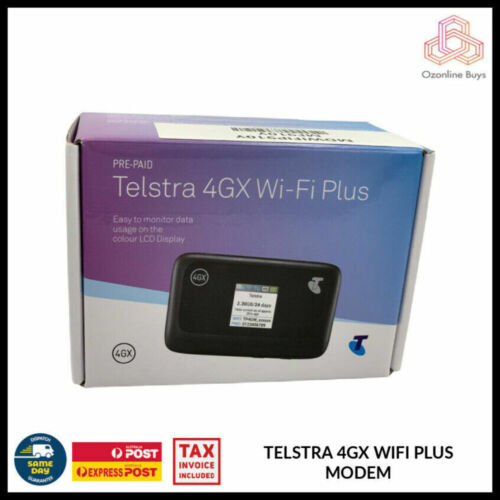 TELSTRA 4GX WIFI PLUS MODEM *AU STOCK*
