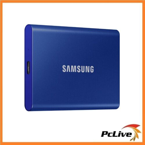 Samsung 1TB  Portable SSD T7 Blue Aluminium USB 3.2 Gen 2 Type-C PC MAC Backup
