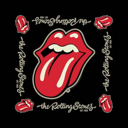 The Rolling Stones Bandana Established 1962 Licencia Oficial Rock Off B079