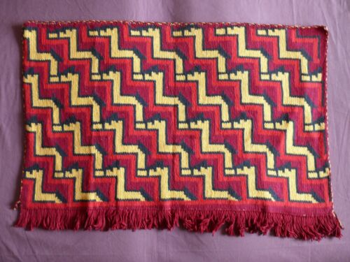 """Beautiful Vintage Bargello Embroidery Tapestry  86cm/59cm(34''x23"""") #1947"""