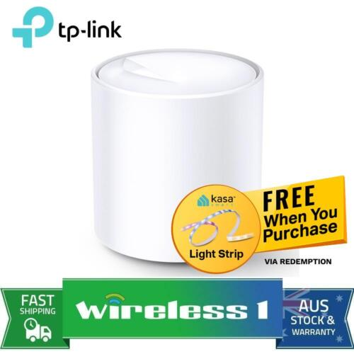 TP-Link DecoDeco X20 (1-pack)AX1800 Whole Home Mesh Wi-Fi 6 System, Up To 200...