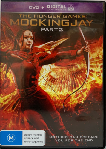 DVD - The Hunger Games: Mockingjay Part 2 - FREE POST #P1