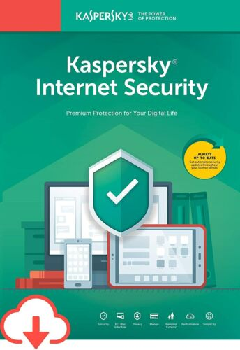 Kaspersky Internet Security 2020 3 Devices 2 Yrs Win Mac Android - Email Lic Key