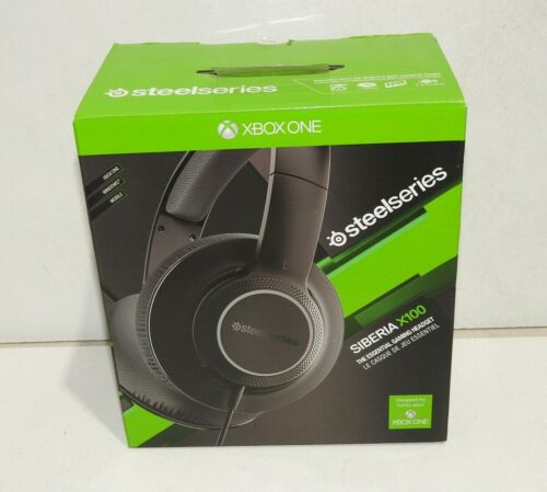 SteelSeries Siberia X100 Comfortable Gaming Headset for Xbox One