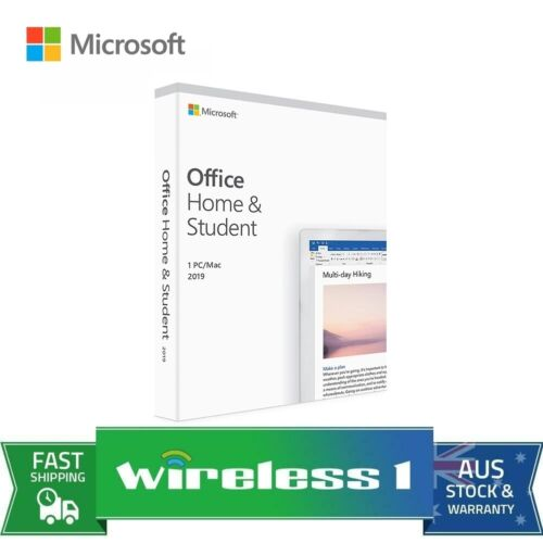 Microsoft 79G-05142 Office 2019 Home and Student - Medialess Retail for Windows