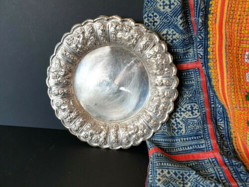 Old Silver-Plated Candy Dish …beautiful accent piece