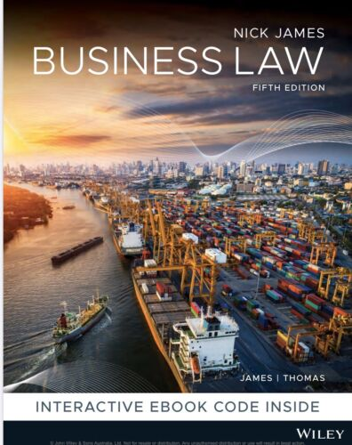 Business Law Fifth Edition Nick James Thomas