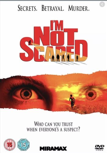 I'm Not Scared DVD (2004) Giuseppe Cristiano, Salvatores (DIR) R15 New SEALED