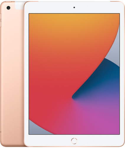 Brand New 2020 Version Apple iPad 8th Gen. 128GB, Wi-Fi, 10.2 in - Gold
