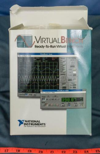 LabVIEW National Instruments Virtual Bench dq