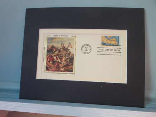 The Battle of Yorktown & First day Cover of its own stampReenactment & Reproductions - 156378