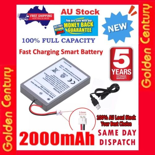*2020* Battery 2000mAh for PS4 Pro Slim Controller 2nd Gen CUH-ZCT2 or CUH-ZCT2U
