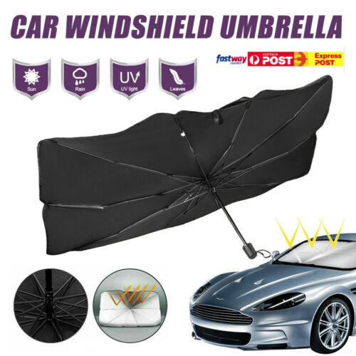 Foldable Car Windshield Sunshade Front Window Cover Visor Sun Shade Umbrella - L