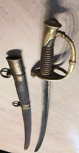 SWORD MLE 1821 WITH SCABBARD TOO RINGOriginal Period Items - 4070