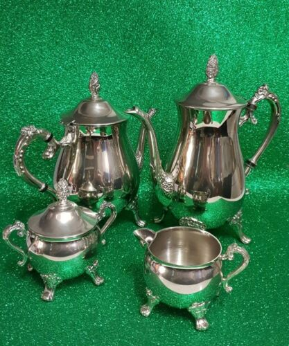 Vintage 4pce A1 Silver Plated Tea & Coffee Service