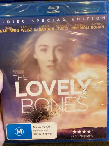 The Lovely Bones - 2 Disc Special Edition NEW/sealed BLU RAY (2009 drama movie)