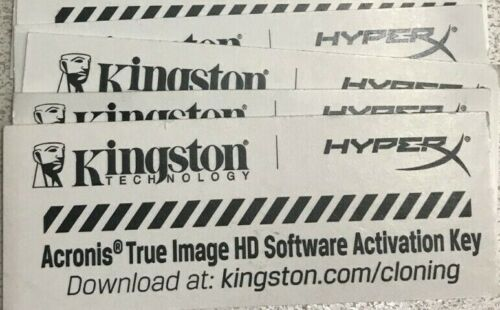 Kingston Acronis True Image HD Software OEM Activation Key