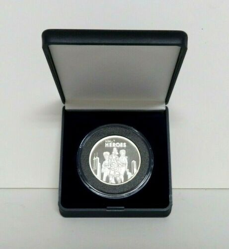 2008 eBay Live Heroes .999 Silver Coin in case