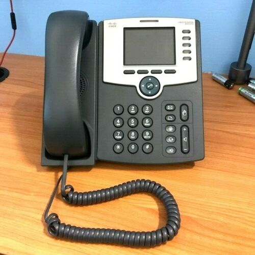 Cisco Network IP Phone 5 Lines PoE - SPA525G - Good Used Condition