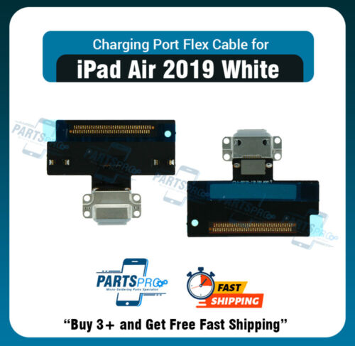 Charging Port Connector Flex Cable for iPad Air 3 10.5 2019 (White)