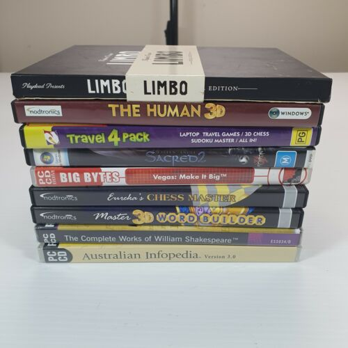 Bulk Lot Windows Software PC CD-ROM Games and Reference