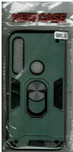 Mobile Phone Case, Motorola G8 Plus, TPU with Hard Shell PC, Brand New