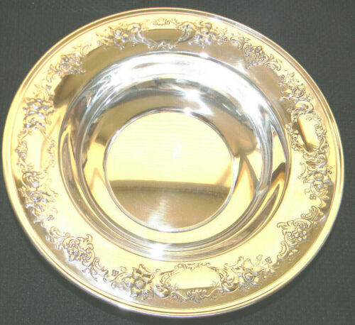 Chantilly Floral Gorham Sterling 10 inch BOWL 1037 NO MONO POLISHED GORGEOUS