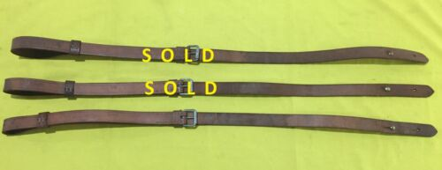 ARGENTINE BROWN LEATHER M1909 MAUSER & FAL SLING SINGLE STRAP UNUSED 1950s-1970sOriginal Period Items - 13982