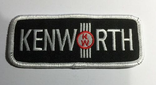 Kenworth Trucks, Sew on/Iron on, cloth Truck patch, Embroidered. KW, Truckie