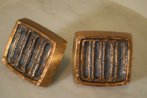 Forms and Surfaces Sherril Broudy door knob bronze vintage Mid Century Modern