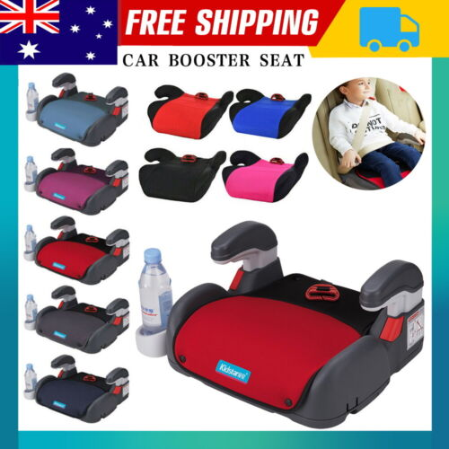 3-12Years Car Booster Seat Chair Cushion Pad For Toddler Children Kids Sturdy AU