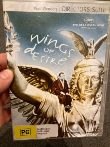 Wings Of Desire region 4 DVD (1987 Wim Wenders foreign fantasy movie) RARE