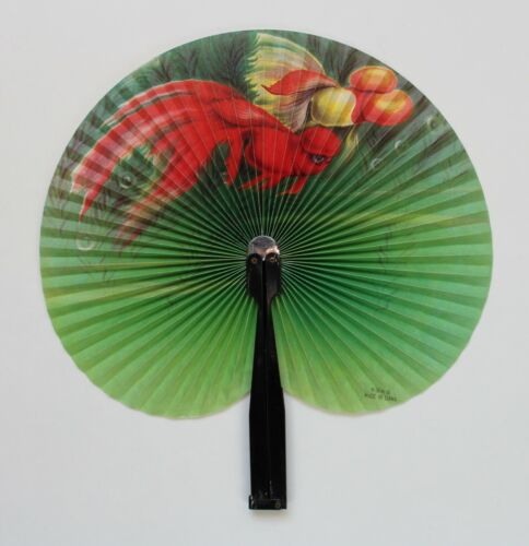 BEAUTIFUL ANTIQUE / VINTAGE CHINESE HAND FAN – FREE SHIPPING