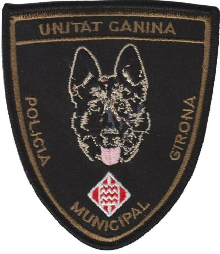 parche POLICIA MUNICIPAL GIRONA K9 , spain police patch Parches - 4725