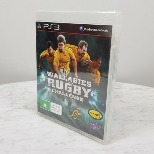 WALLABIES RUGBY CHALLENGE PS3 Playstation 3 Video Game NEW + SEALED