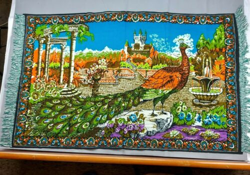 Beautiful Vintage Painted Tapestry 160cm/93cm(63''x36.5'') #2031