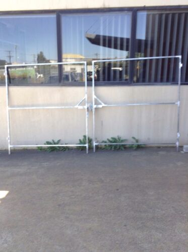 1.8m x 3m Double Steel Gate Frames (Can be custom made)