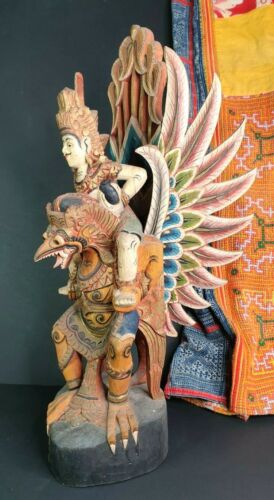 Old Balinese Garuda Carving …beautiful collection and display piece
