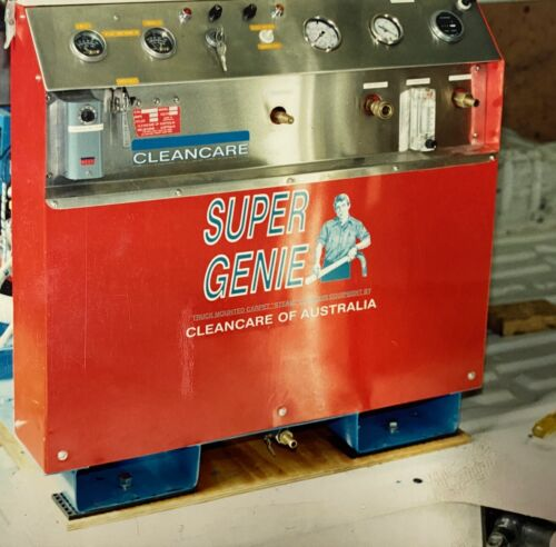 Carpet steam cleaning machine...Truck mounted <br/> Supergenie Commercial Carpet Steam Cleaning Machine