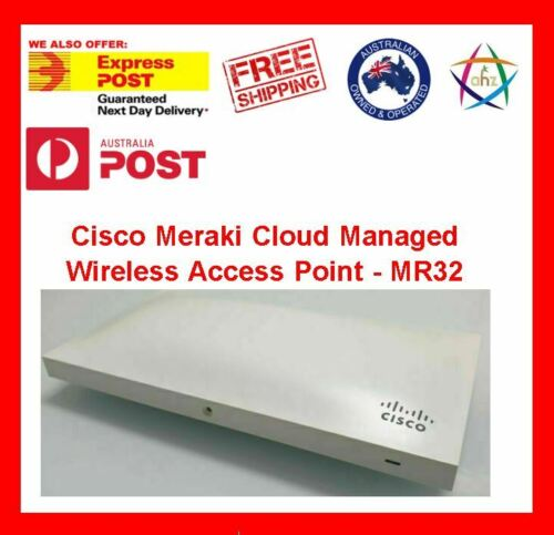 Cisco Meraki Cloud Managed Wireless Access Point - MR32