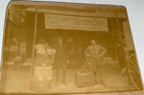 Rare Antique American Occupational Advertising Storefront! Pet Dog Cabinet Photo
