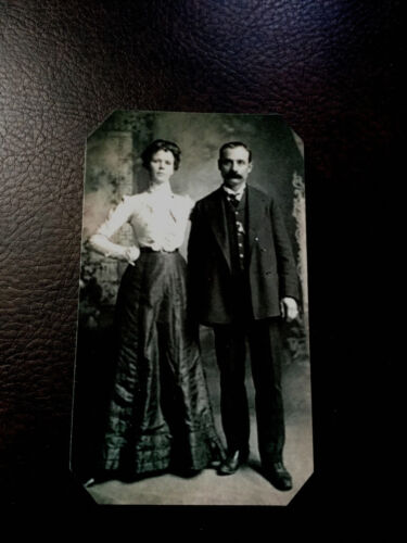 Historical tintype reproduction of Kid Curry and Annie Rogers tintype C533RP