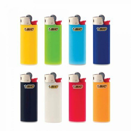 BIC Mini Lighters Tobacco Cigarette  Assorted Colours J25