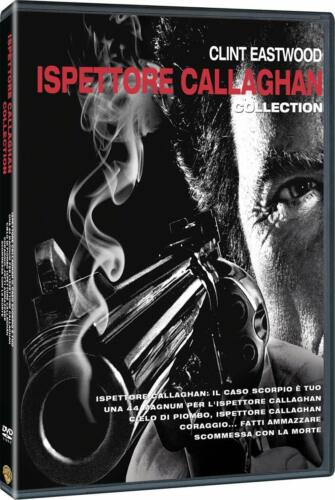 CLINT EASTWOOD- ISPETTORE CALLAGHAN COLLECTION (5 DVD) COF.UNICO, ITALIANO