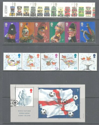 GB Commemoratives Fine Used Sets   2000 - to  2009