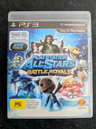 Playstation All-Stars Battle Royale - PS3 Game (PAL)