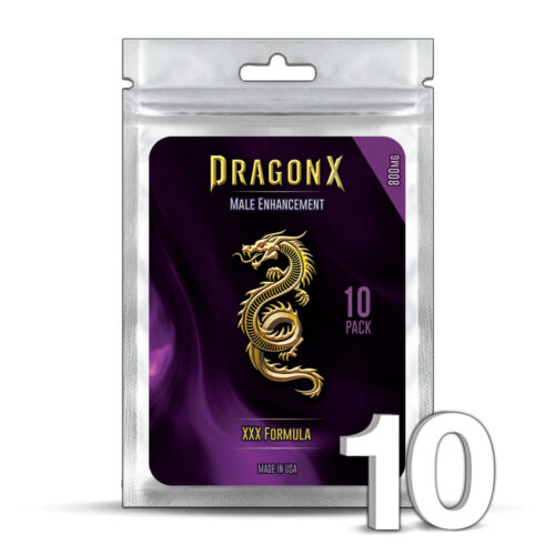10 DRAGON X Male Enhancement Sex Pills for EXTREME ENHANCEMENT <br/> SAME-DAY SHIPPING  +  WORKS or your MONEY BACK