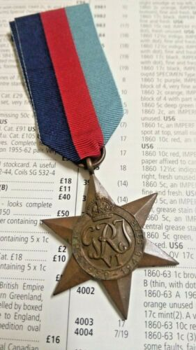 1939-1945 STAR CAMPAIGN MEDAL ISSUED TO  23852 SPR. SHABRATI BENGAL S&M1939 - 1945 (WWII) - 13977